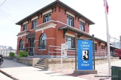 Delta Cultural Center Depot in Helena, Arkansas