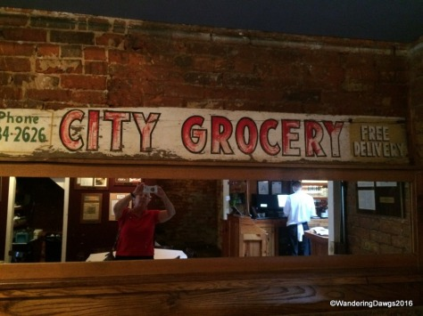 City Grocery on the square in Oxford, Mississippi