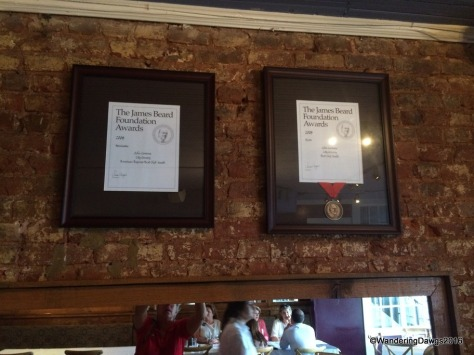 Two of the Four James Beard Awards at City Grocery