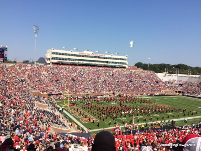 SEC Football at Ole Miss in Oxford