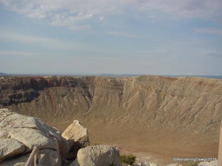Meteor Crater in Arizona