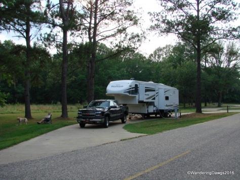 Prairie Creek Campground - Our first COE Park