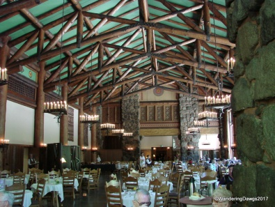 Dining Room at the Ahwahnee Hotel