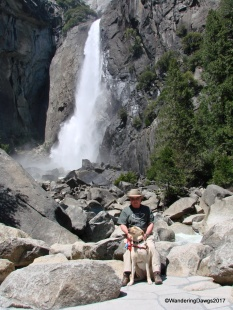 We took the trail to Lower Yosemite Falls