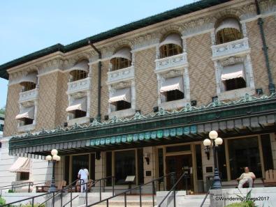 Fordyce Bath House on Bath House Row in Hot Springs
