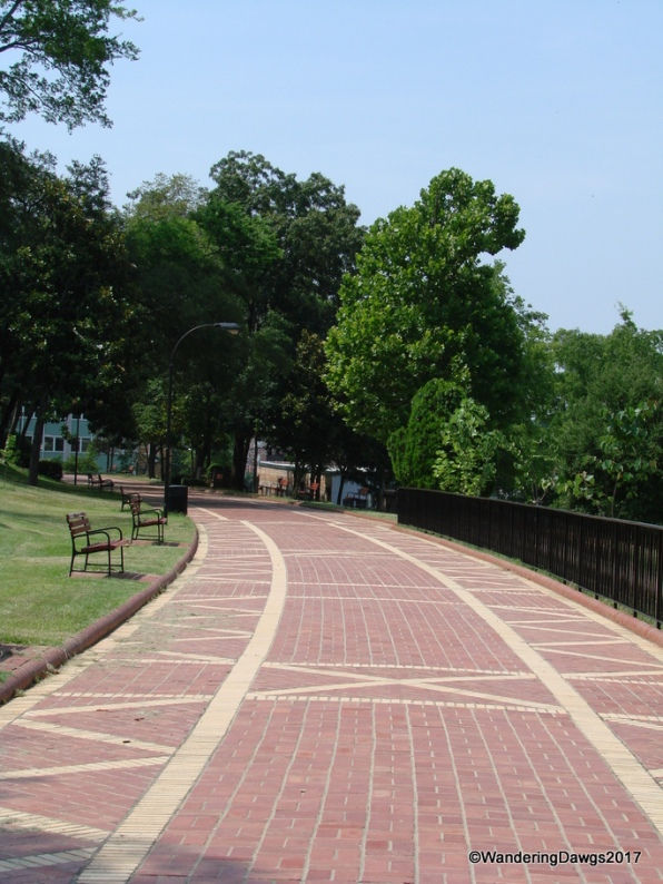 The Grand Promenade in Hot Springs National Park, Arkansas