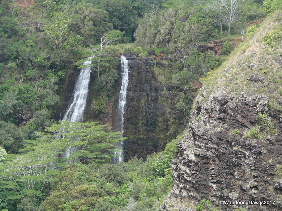 Opaekaa Falls on Kauai