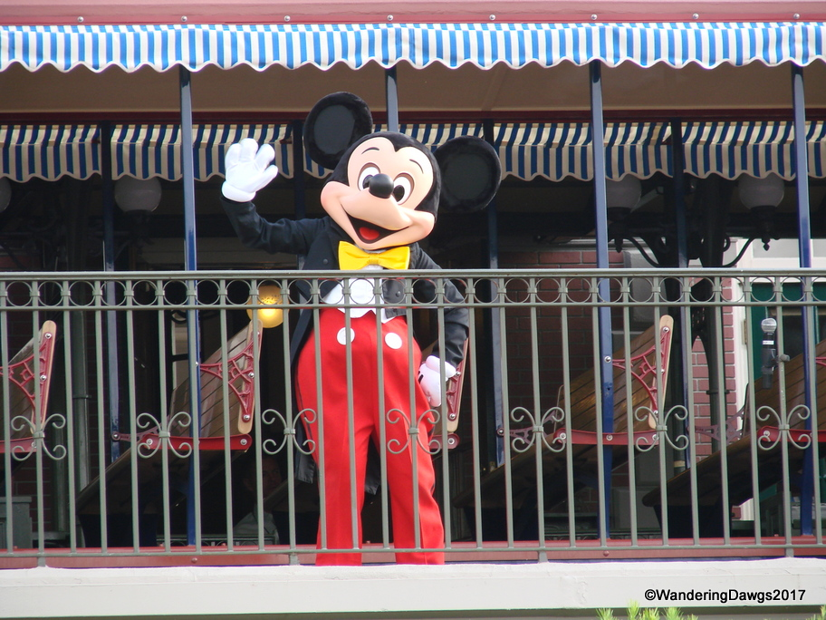 Micky welcomes us to the Magic Kingdom