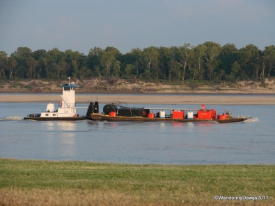 Some of the barges were small