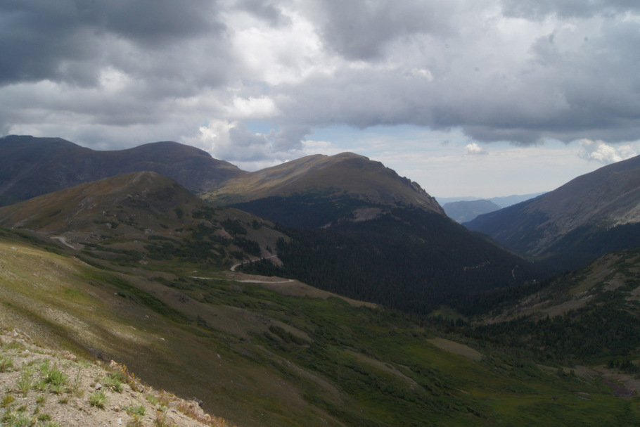 Alpine Visitor's Center View in Rocky Mountain National Park