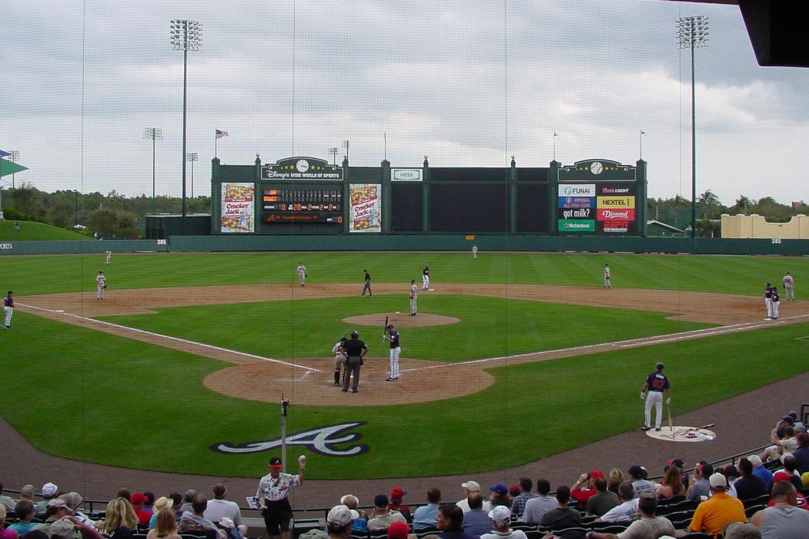 Atlanta Braves Spring Training at Disney's Wide World of Sports
