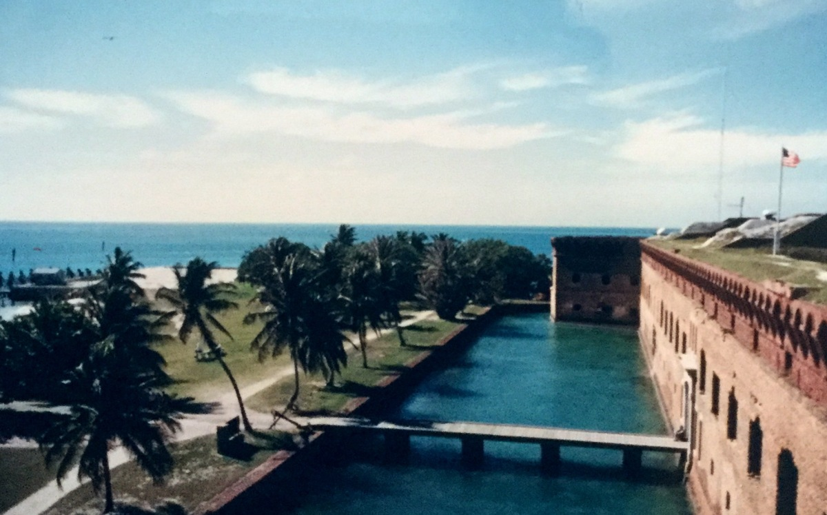 Fort Jefferson in Dry Tortugas National Park
