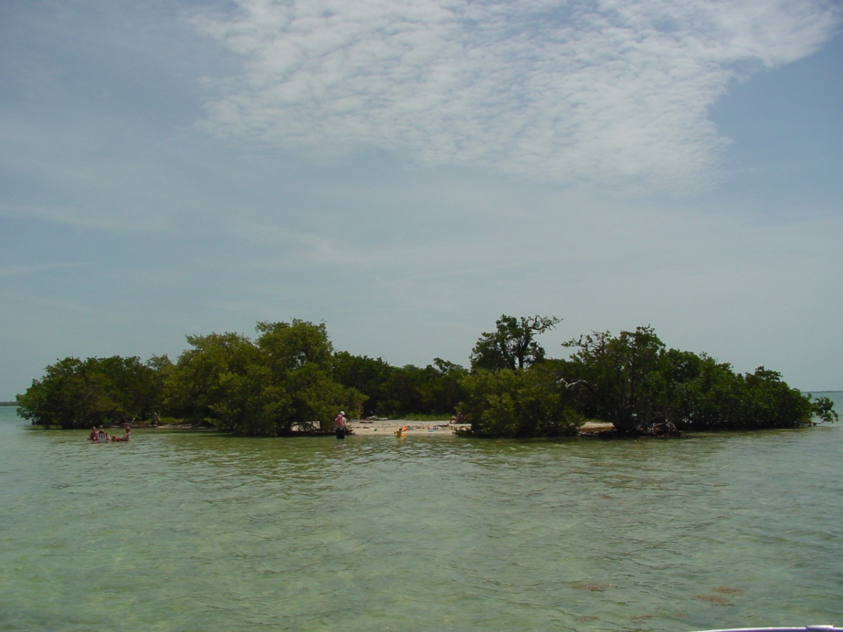Popular boating destination in the lower Florida Keys