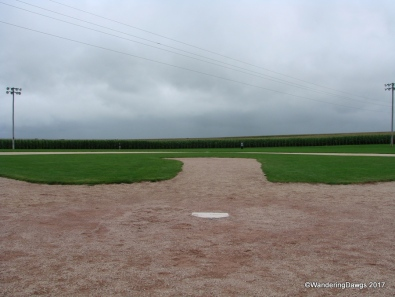 View from behind home plate - If you build it he will come