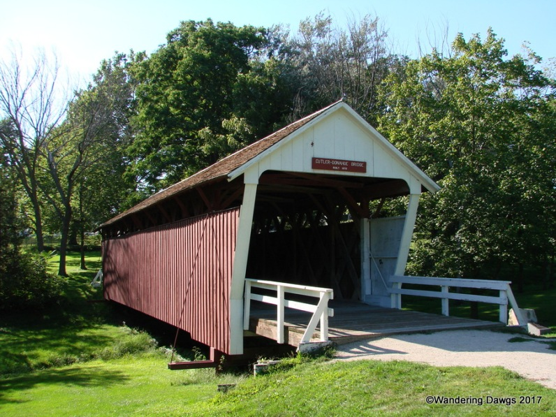 Cutler-Donahoe Bridge, built in 1870