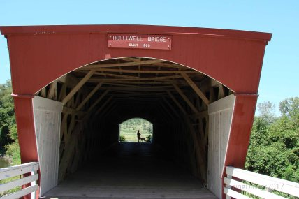 Holliwell Covered Bridge, Madison County, Iowa