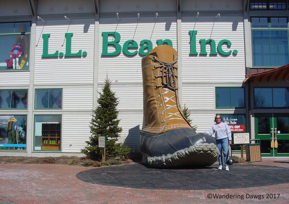 L. L. Bean Store in Freeport, Maine