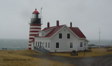 West Quaddy Light is located on the easternmost point in the U. , MES.