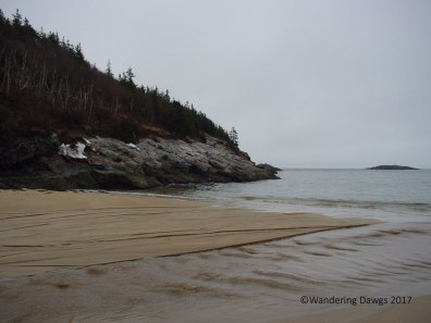 Sand Beach at Acadia National Park