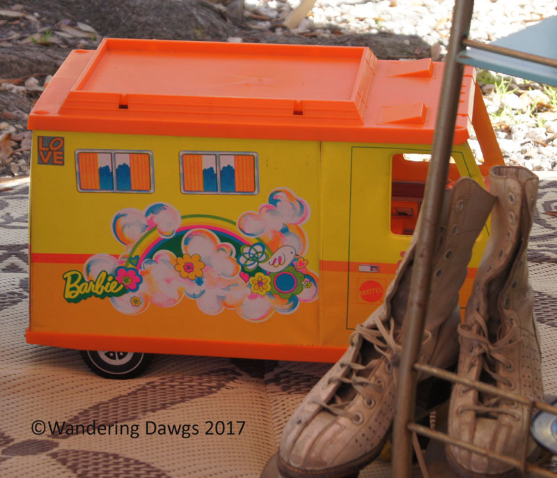 Barbie Camper and Skates