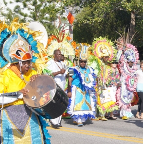 Tybee Irish Heritage Parade Junkanoo from the Bahamas