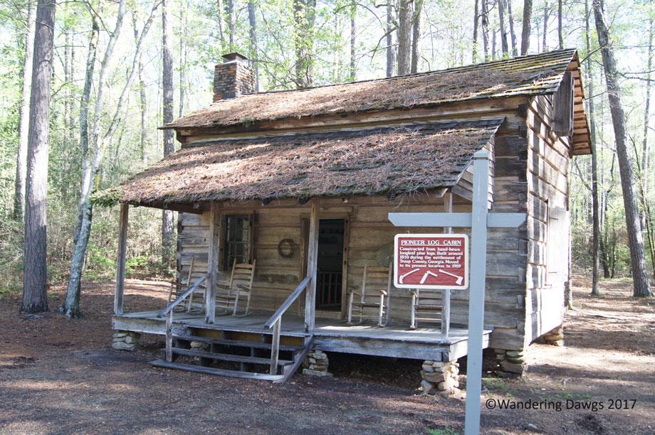 Pioneer Log Cabin at Callaway Gardens