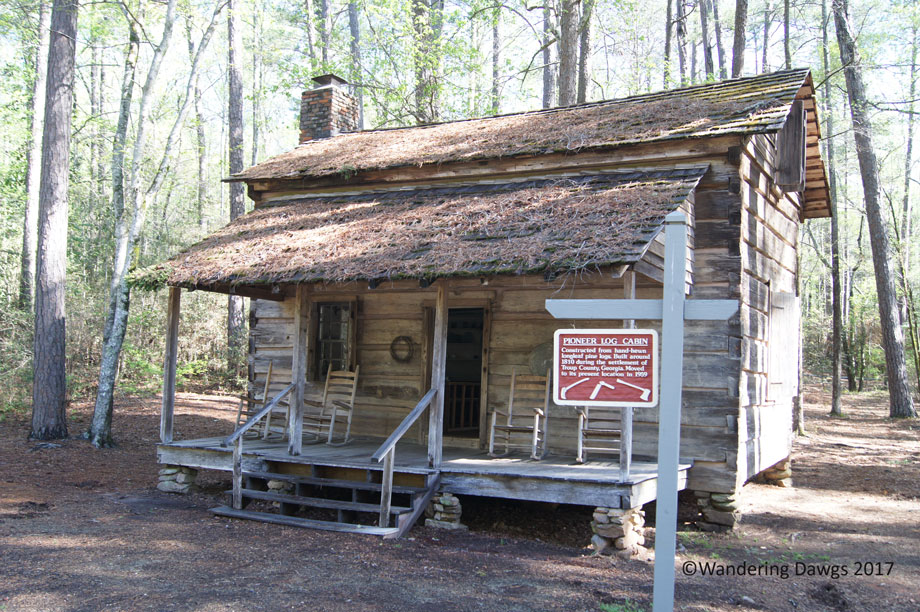 Pioneer Log Cabin at Callaway Gardens