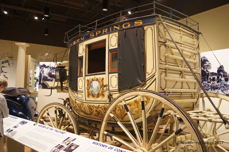 FDR's carriage in Warm Springs