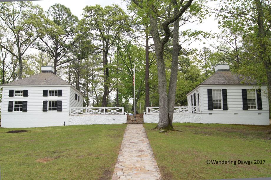 Servants Quarters and Guest House at The Little White House