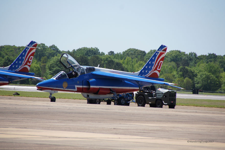 Patrouille de France at Maxwell A.F.B. Air Show