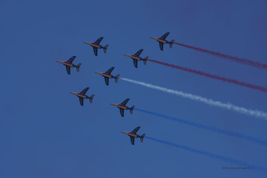Patrouille de France at Maxwell Air Show
