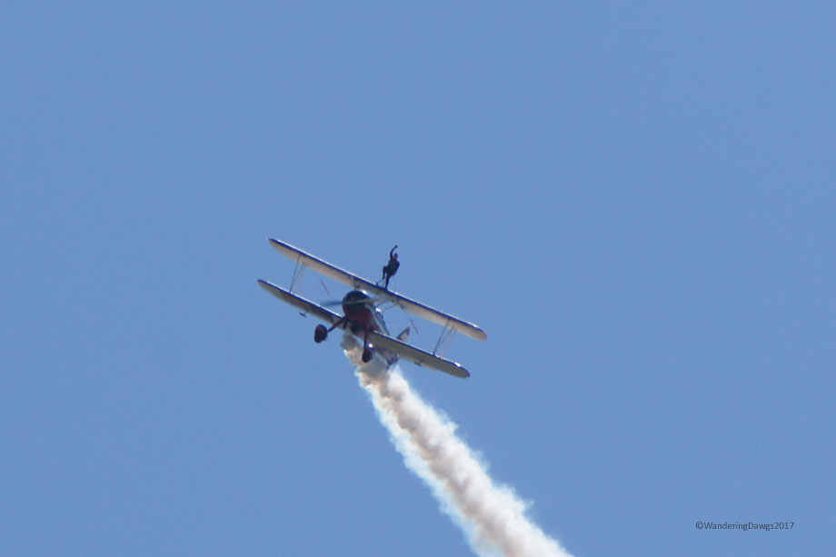 Wing Walker at Maxwell Air Show