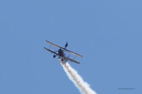 Wing Walker at Maxwell Air Show