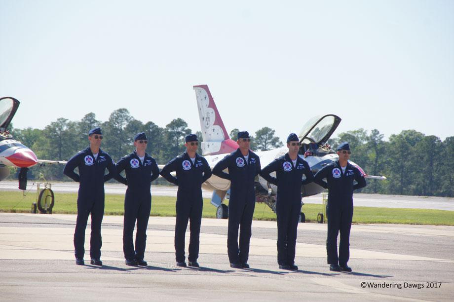 U.S.A.F. Thunderbird Pilots