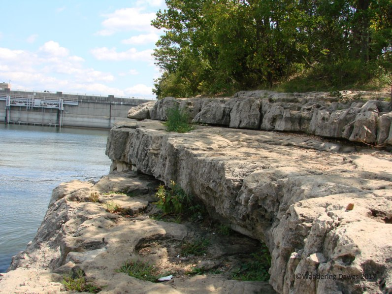 Rocky Bluff near Table Rock Dam
