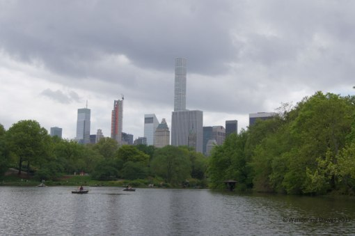The Lake in Central Park West