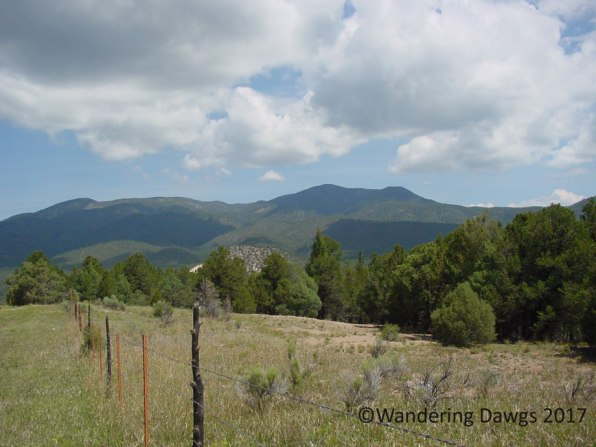 On the high road to Taos