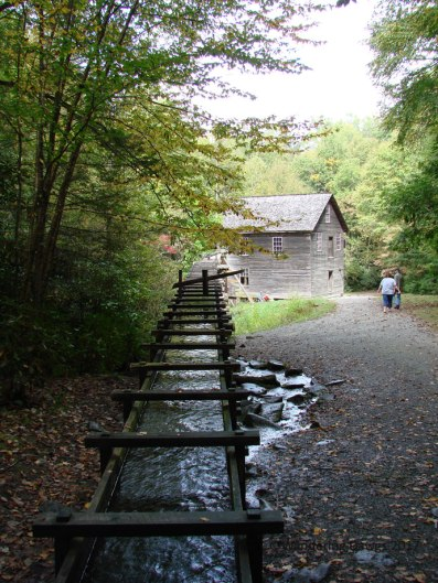 Mingus Mill in Great Smokey Mountains National Park