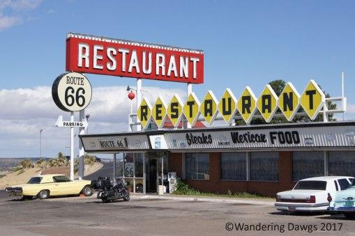Historic Route 66 in Santa Rosa