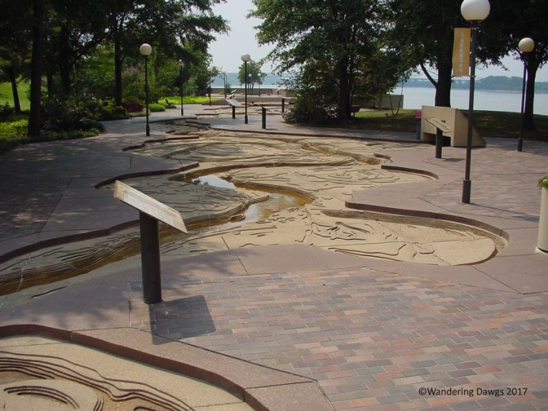 Riverwalk on Mud Island in Memphis