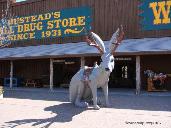 Wall Drug Store in Wall, South Dakota