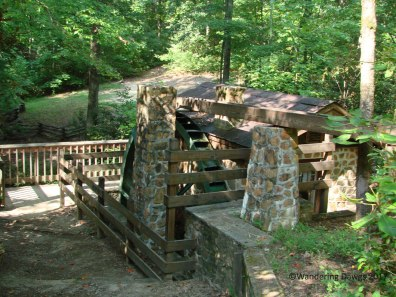 Old mill at Oconee State Park