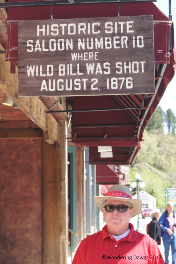 Wild Bill Hickock was killed in Deadwood