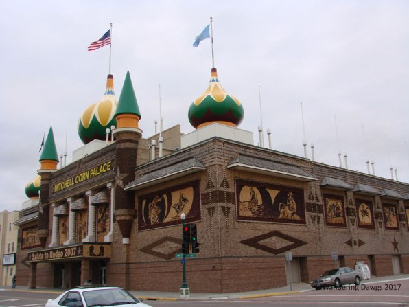 The Corn Palace in Mitchell, South Dakota