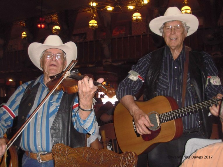 We were serenaded with a Bob Wills classic while we enjoyed our steak at the Big Texan
