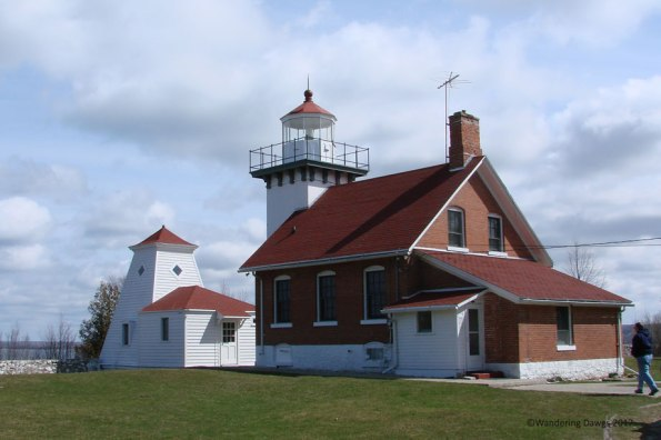 Sherwood Point Lighthouse, Door County Peninsula, WI