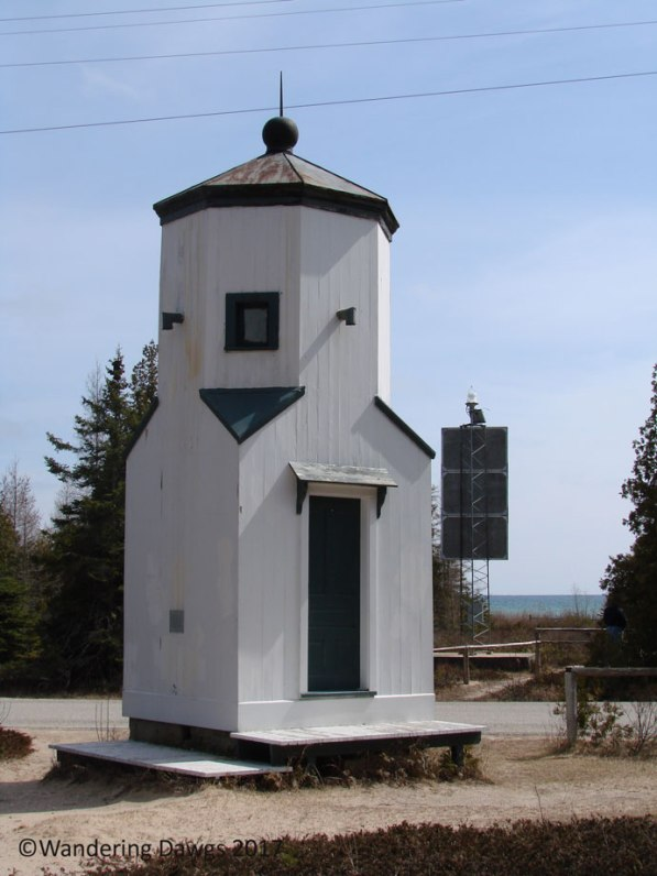 Baileys Harbor Lower Range Light is no longer in use, WI