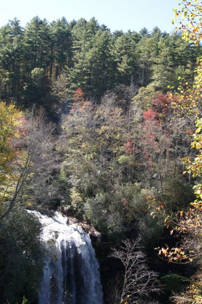 Fall Colors above Dry Falls