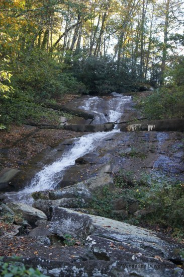 Sylvan Falls in Mountain City, GA