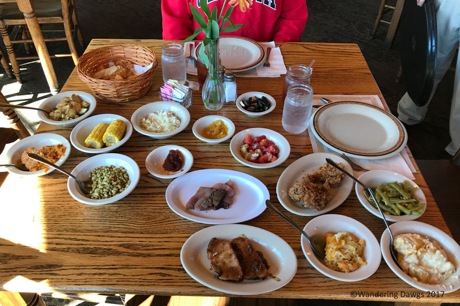 Bring Your Appetite When You Go To The Dillard House
